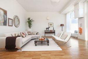 Homestaging vardagsrum